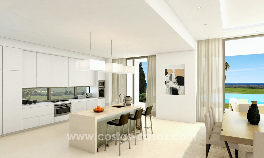 Brand New modern Villas for sale on the Golden Mile, Marbella 13067