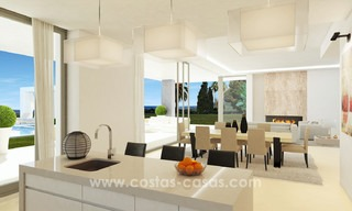 Brand New modern Villas for sale on the Golden Mile, Marbella 13068