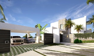 Brand New modern Villas for sale on the Golden Mile, Marbella 13076
