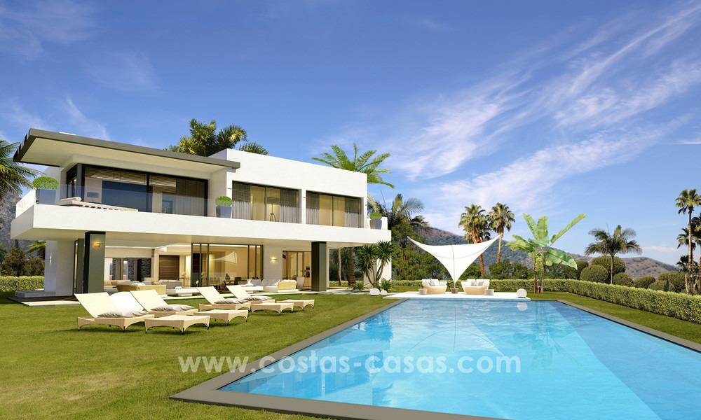Brand New modern Villas for sale on the Golden Mile, Marbella 13063