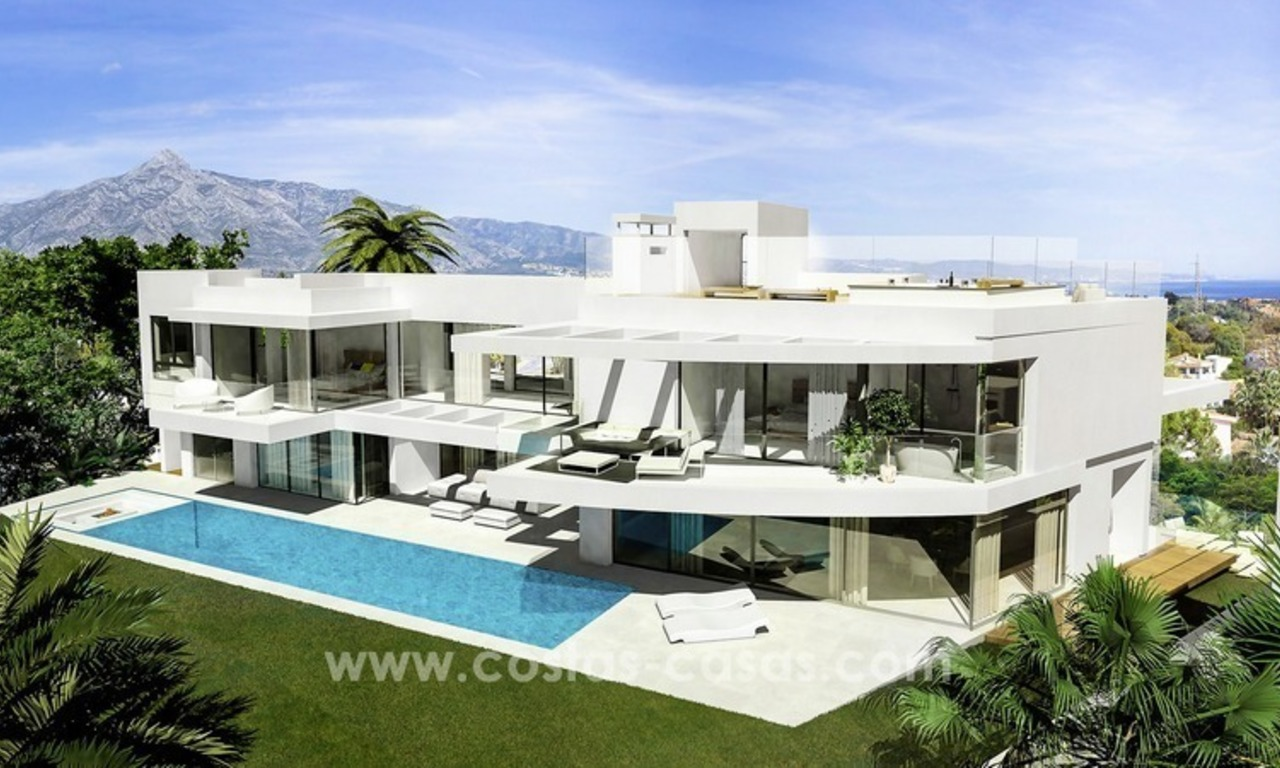 Cutting Edge Designer Villas for sale in Nueva Andalucia, Marbella 1