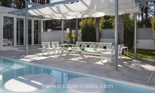 Brand New Beach Side Contemporary Villa for sale in Guadalmina Baja, Marbella 3