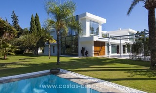 Brand New Beach Side Contemporary Villa for sale in Guadalmina Baja, Marbella 5