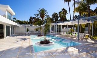 Brand New Beach Side Contemporary Villa for sale in Guadalmina Baja, Marbella 4