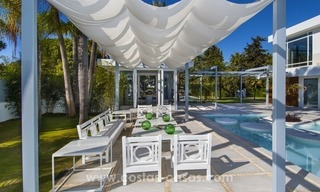 Brand New Beach Side Contemporary Villa for sale in Guadalmina Baja, Marbella 14