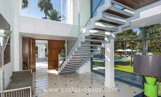 Brand New Beach Side Contemporary Villa for sale in Guadalmina Baja, Marbella 30