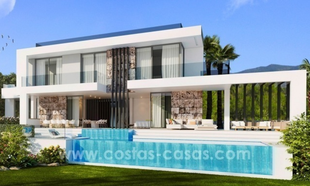 10 Designer Villas With Sea and Golf Views for sale in Marbella - Benahavis 1