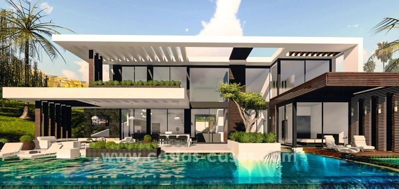 10 Designer Villas With Sea and Golf Views for sale in Marbella - Benahavis