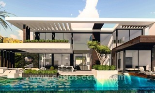 10 Designer Villas With Sea and Golf Views for sale in Marbella - Benahavis 0