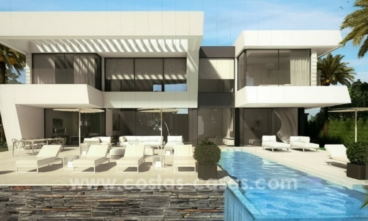 10 Designer Villas With Sea and Golf Views for sale in Marbella - Benahavis 3