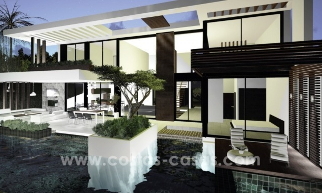 10 Designer Villas With Sea and Golf Views for sale in Marbella - Benahavis 4