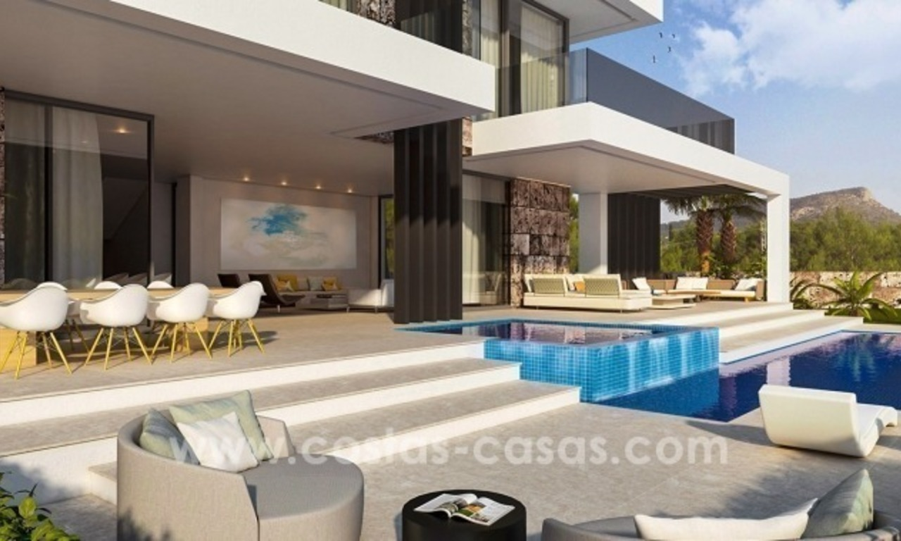 10 Designer Villas With Sea and Golf Views for sale in Marbella - Benahavis 9
