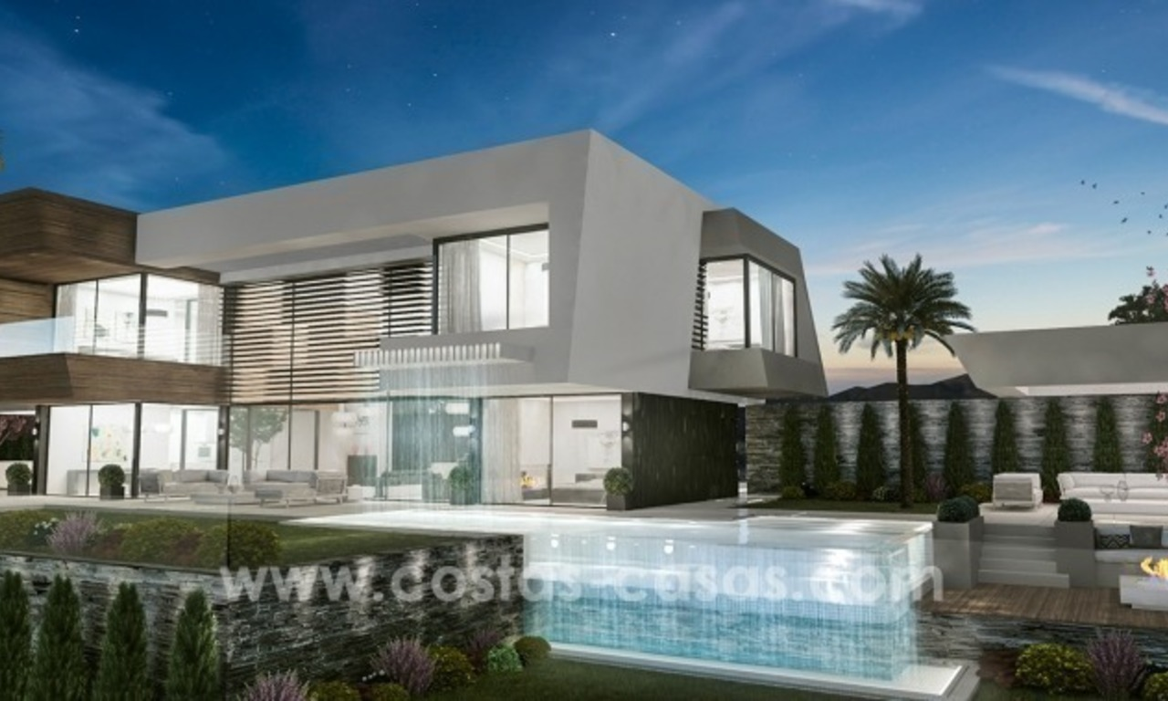 10 Designer Villas With Sea and Golf Views for sale in Marbella - Benahavis 6