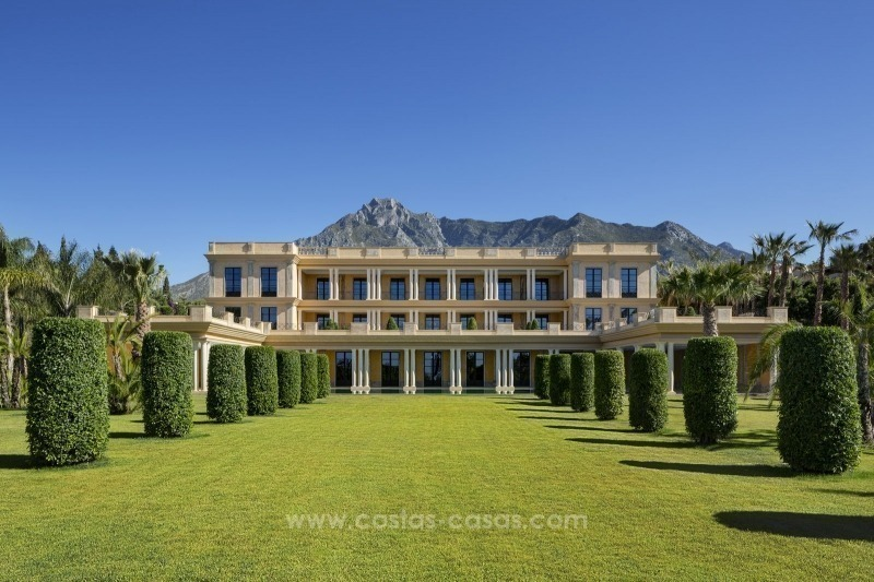 Unique palatial mansion for sale on the Golden Mile, Marbella 1
