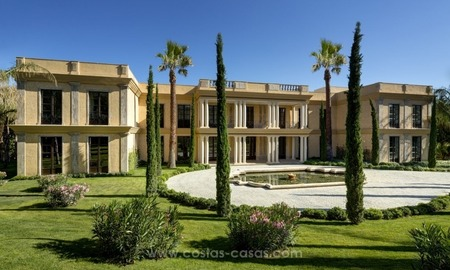 Unique palatial mansion for sale on the Golden Mile, Marbella 2