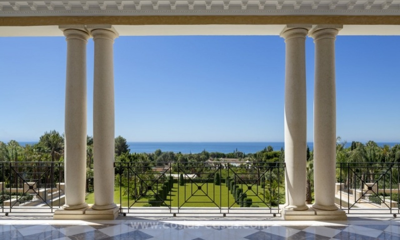 Unique palatial mansion for sale on the Golden Mile, Marbella 6