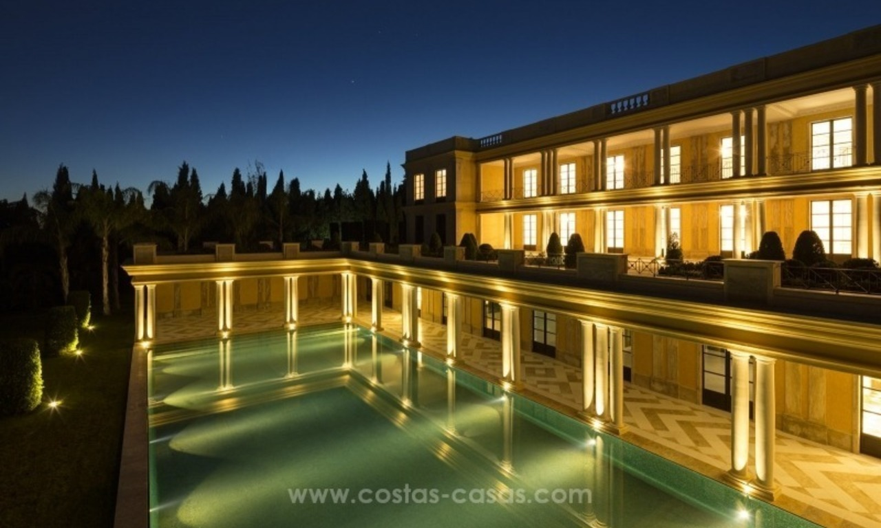 Unique palatial mansion for sale on the Golden Mile, Marbella 8