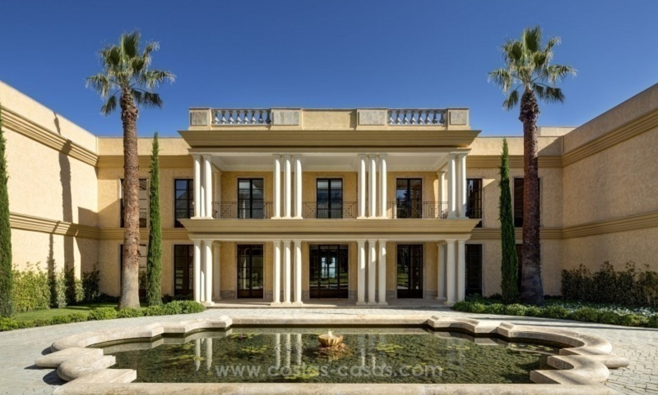 Unique palatial mansion for sale on the Golden Mile, Marbella 3