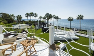Frontline beach Balinese style villa for sale in the East of Marbella 3