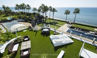 Frontline beach Balinese style villa for sale in the East of Marbella 2