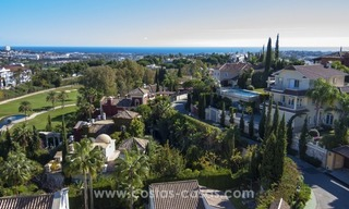 Contemporary golf villa for sale with splendid sea view in an up-market area of Nueva Andalucia - Marbella 32