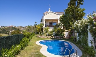 Villa with fantastic golf and sea views for sale in Benahavis - Marbella 1