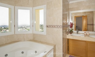 Villa with fantastic golf and sea views for sale in Benahavis - Marbella 13