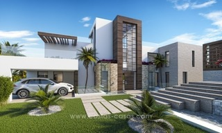 Contemporary villa with tennis court for sale in the heart of the Golf Valley, Nueva Andalucía, Marbella 6