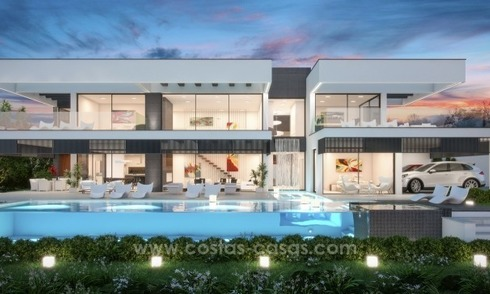 Brand new contemporary villa in the heart of the golf valley, Nueva Andalucía, Marbella