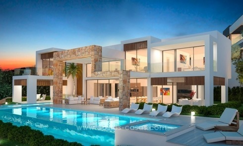 New modern villa in the heart of the golf valley, Nueva Andalucía, Marbella