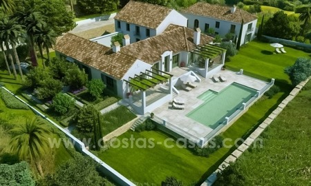 Brand New contemporary Golf Mansions in 5 Star Resort for sale on la Costa del Sol