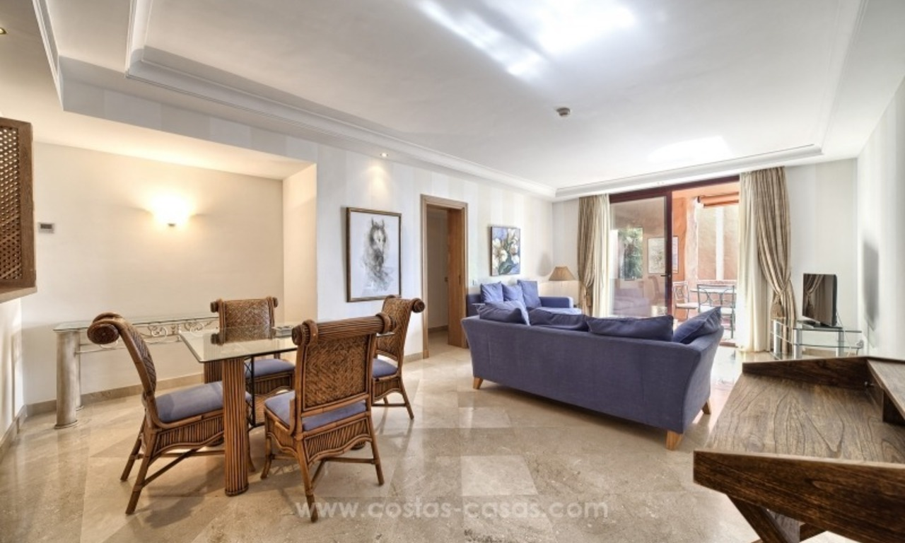 Apartment for sale with sea views in the private Wing of the hotel Kempinski, Estepona - Marbella 11