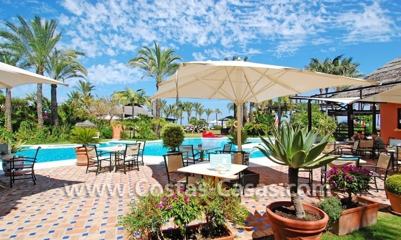 Apartment for sale with sea views in the private Wing of the hotel Kempinski, Estepona - Marbella 24