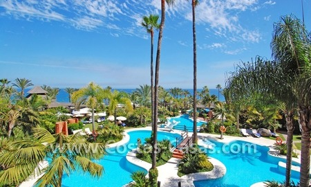 Apartment for sale with sea views in the private Wing of the hotel Kempinski, Estepona - Marbella