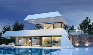 Modern new villas, next to the golf in Nueva Andalucía, Marbella 1