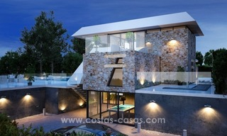 Modern new villas, next to the golf in Nueva Andalucía, Marbella 2