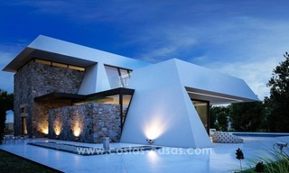 Modern new villas, next to the golf in Nueva Andalucía, Marbella 3