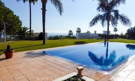 Fabulous Sea View Villa for sale in Altos Reales, Golden Mile, Marbella
