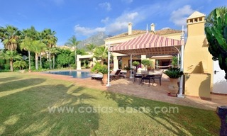 Great villa with Sea views for sale on the Golden Mile, Sierra Blanca, Marbella 5