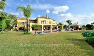 Great villa with Sea views for sale on the Golden Mile, Sierra Blanca, Marbella 0