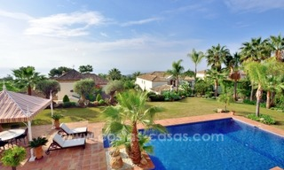 Great villa with Sea views for sale on the Golden Mile, Sierra Blanca, Marbella 4