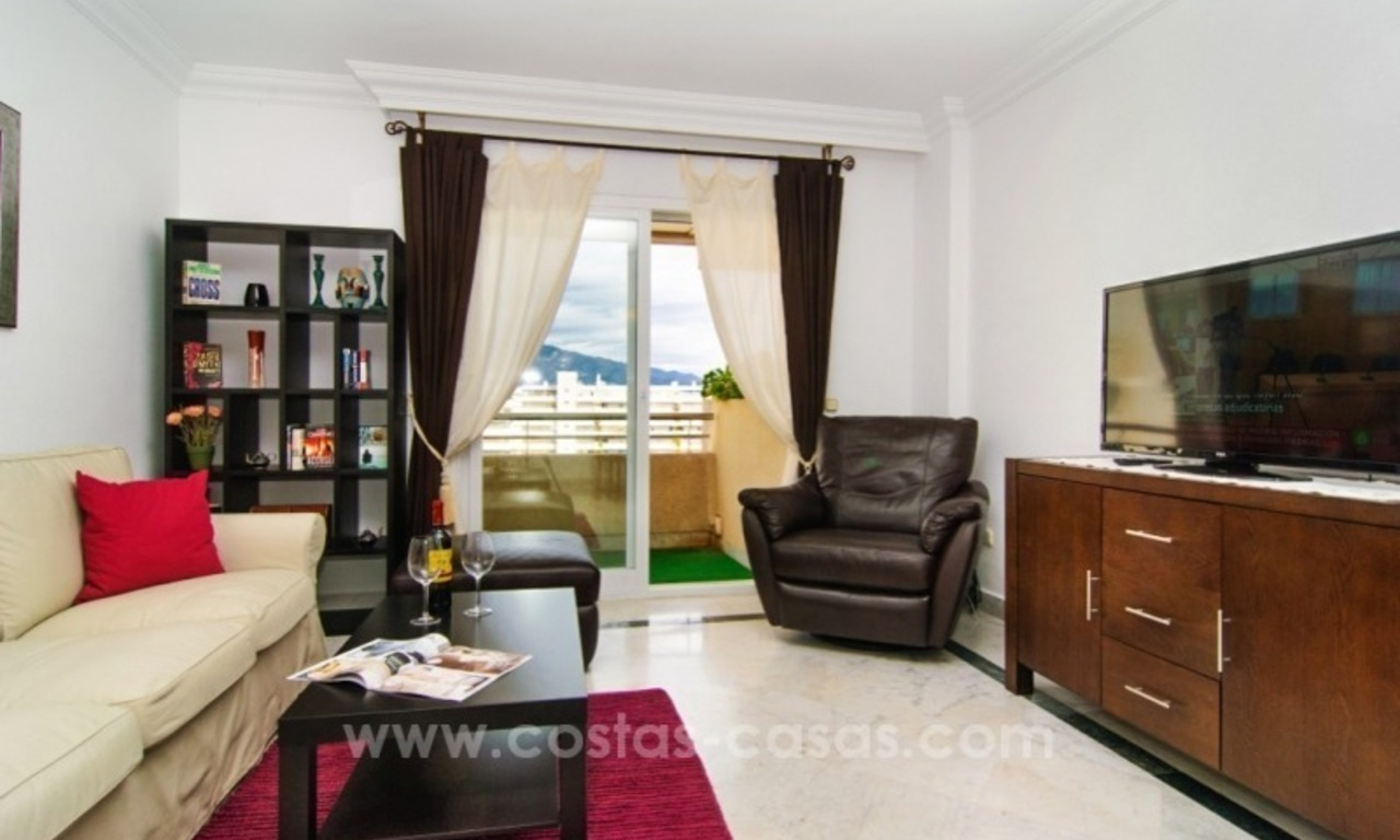 Fabulous Apartment With Sea Views for sale in Central Puerto Banus, Marbella 10