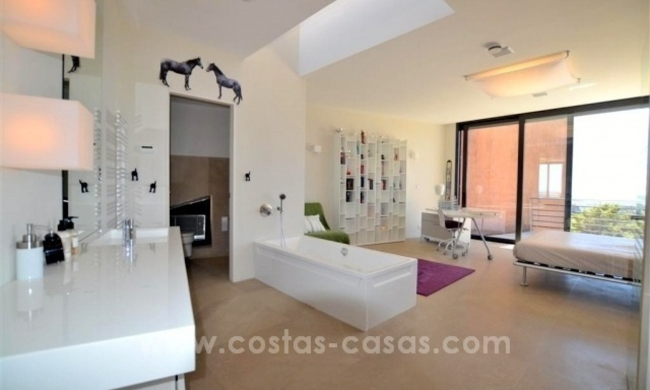 Ultra Modern Designer Villa for sale in Benahavis - Marbella 25