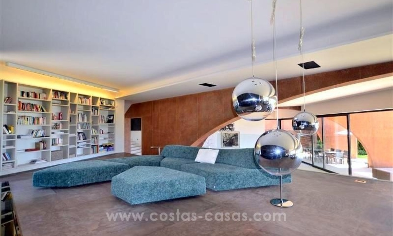 Ultra Modern Designer Villa for sale in Benahavis - Marbella 30