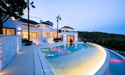 State Of The Art Designer Villa & Sea Views in La Zagaleta, Benahavis - Marbella
