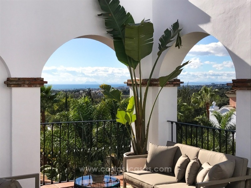 Luxury apartments for sale in the exclusive area of Sierra Blanca, Marbella