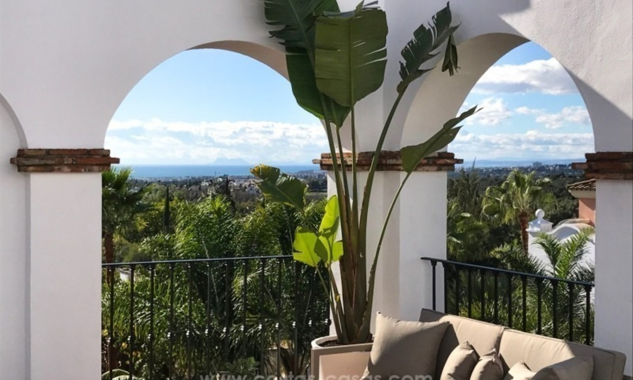 Luxury apartments for sale in the exclusive area of Sierra Blanca, Marbella 0
