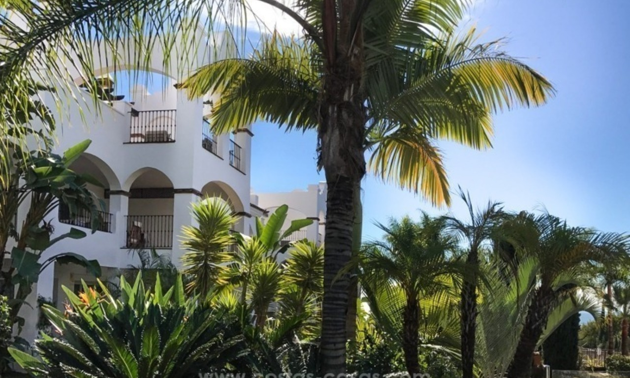Luxury apartments for sale in the exclusive area of Sierra Blanca, Marbella 2