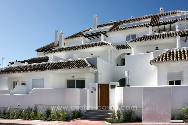 Penthouse for sale. Renovated apartments for sale in the heart of Nueva Andalucía, Marbella