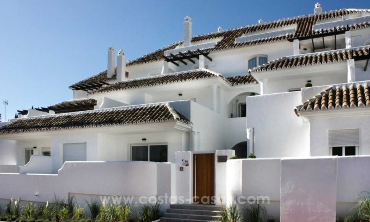 Penthouse for sale. Renovated apartments for sale in the heart of Nueva Andalucía, Marbella 0